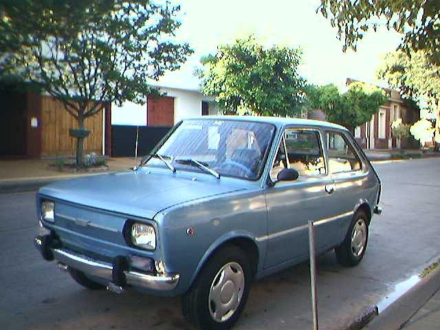 Restauración Fiat 133