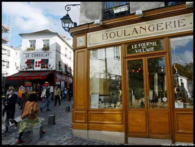Barrio de Montmartre en Par?s