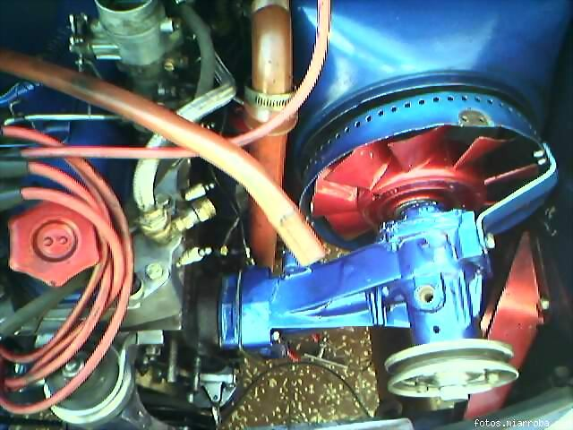 Fiat 600 club pasi n por el fitito alternador del s for Cambiar bomba de agua