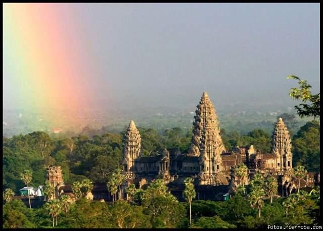Angkor Wat, el templo del imperio Khmer. Camboya