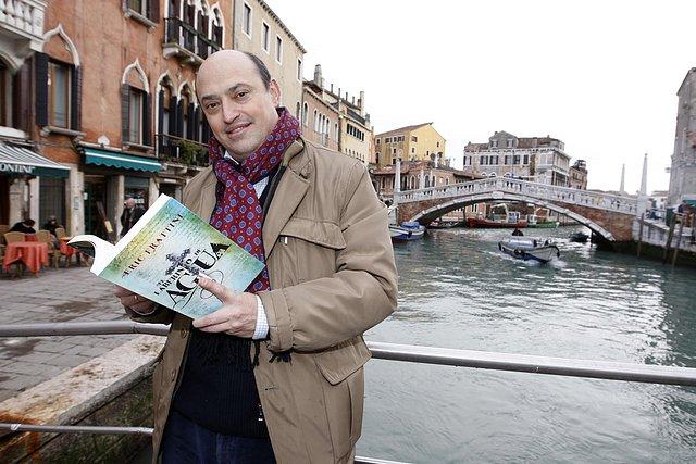 Eric Frattini, en Venecia.