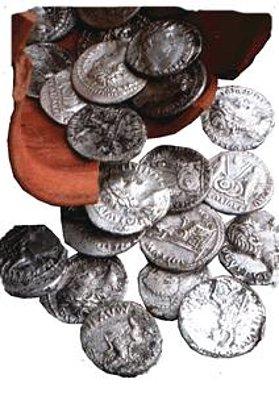 Denarios de plata