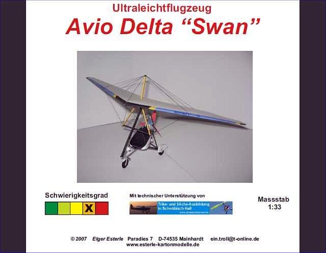 "Ultraligero Ala Delta ""Swan"" (Homenaje póstumo) 97a931b7"
