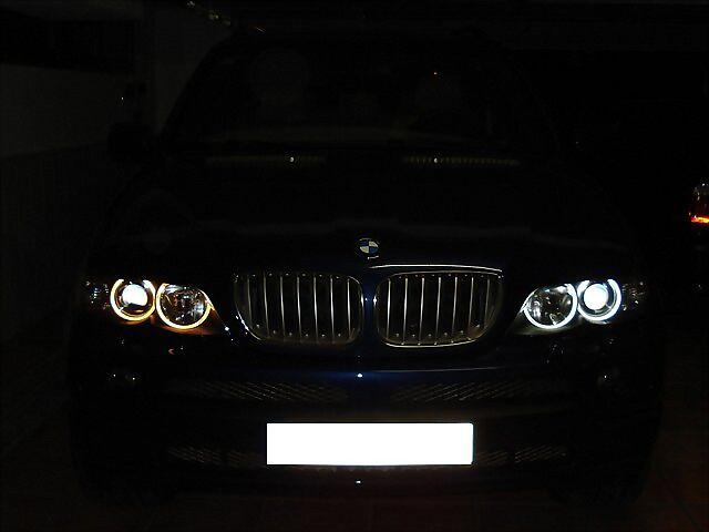 how to change angel eye bulbs e84