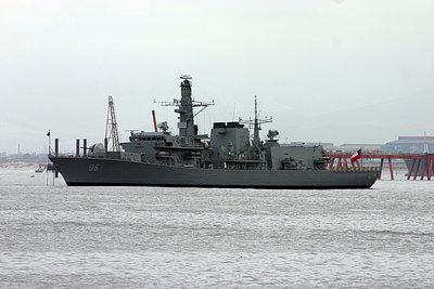 Fragata Condell en Quintero