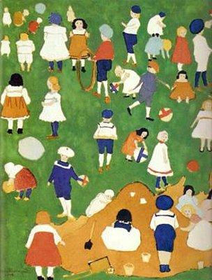 Niños, Kazimir Malevich