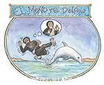 El mono y el delfín