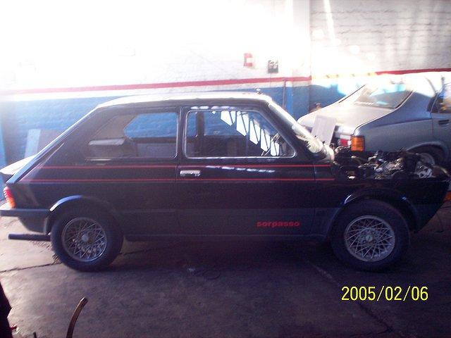 Restauración Fiat 147 Sorpasso IAVA