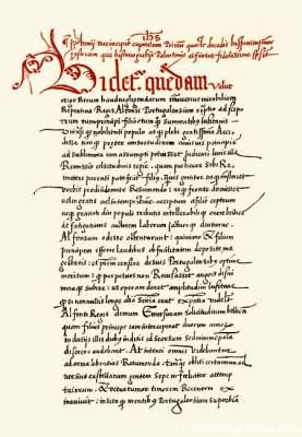 pag. 127 del manuscrito De Factum Est