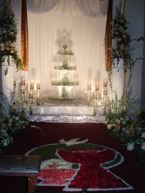 Decorar Altar De Iglesia ~ Ceremonia y r?brica de la Iglesia espa?ola  Monumento de Semana