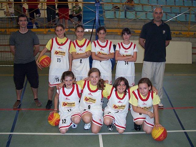 Monçao Basket alevín feminino