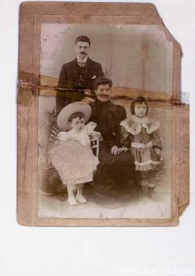 Luis Barón Hernández y Carmen Parra López 1906