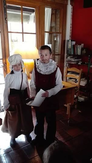 Dulcinea y Cervantes