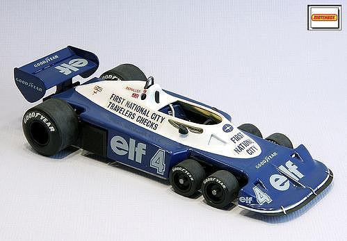 Matchbox Tyrrell p34_2 M