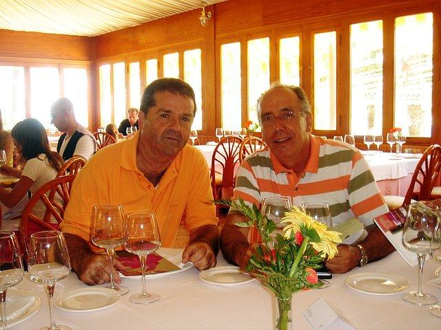 Paco y Mariano. Minarete. La Vila