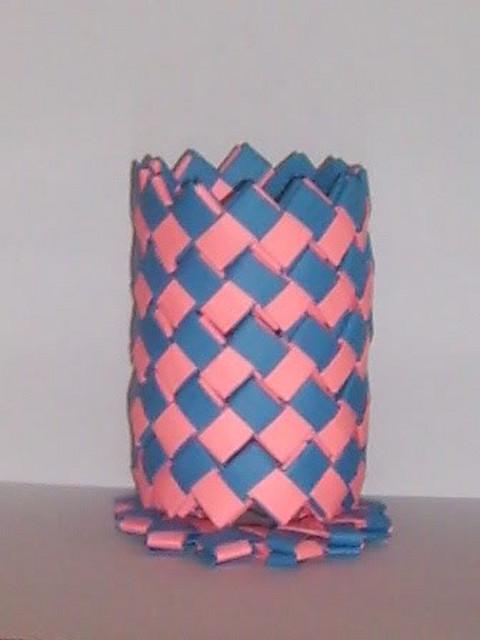 lapicero azul y rosa