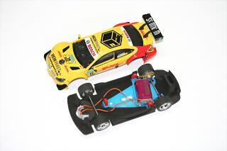 SP600006 body + chassis Mercedes DTM -Carrerra-