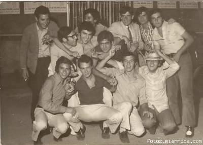 Pandilla amigos Feria Gérgal años 60 (1)