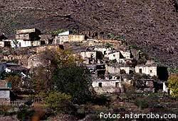 Tablas, poblado minero y agrícola, hoy deshabitado