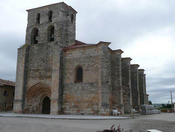 Burgos VILLADIEGO  IGLESIA DE SANTA MARIA.SXVTARDO GOTICA
