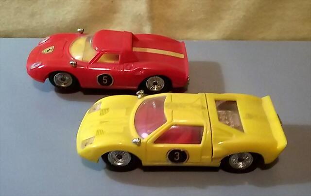 Policar Ford GT & Ferrari 250 (1)