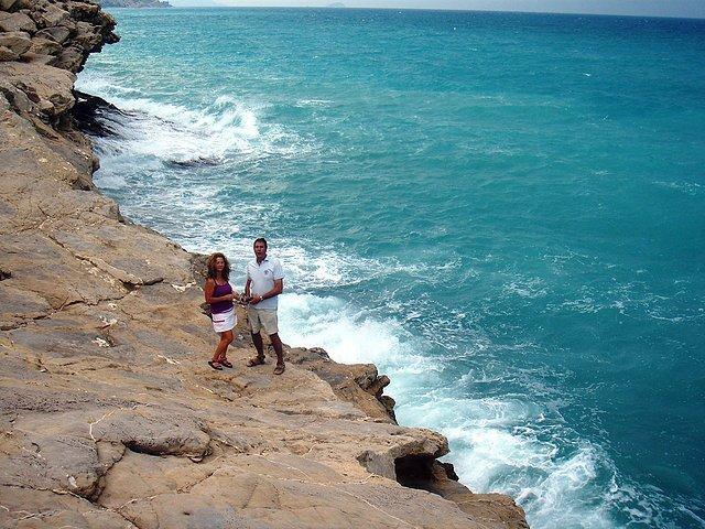 Villajoyosa, entre playas La Caleta y Charco