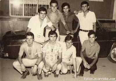 Pandilla amigos Feria Gérgal años 70?
