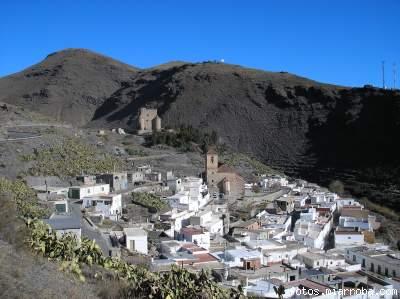 Vista Gérgal desde Carretera de Las Aneas