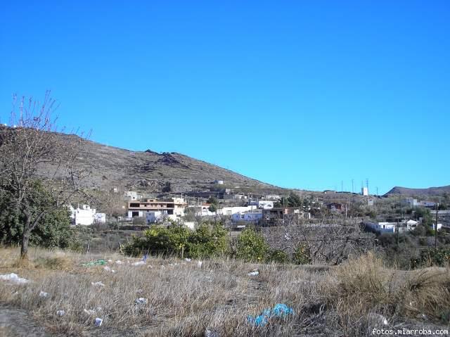 Vista Barrio Pilanos de Gérgal (Almería)