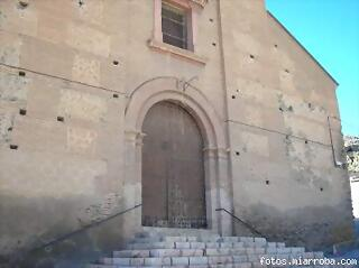 Portada Principal Iglesia Gérgal