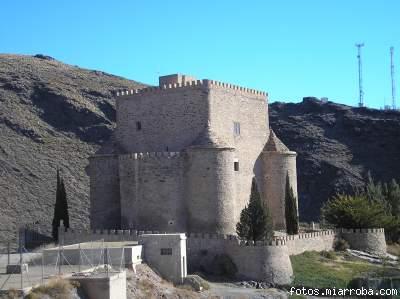 Castillo Gérgal desde Carretera de Las Aneas