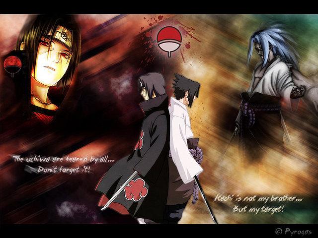 Sasuke vs. Itachi