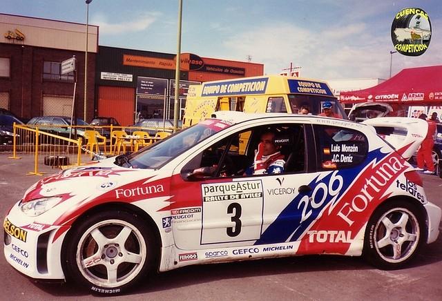 Peugeot 206 WRC -- Aviles Monzon FORTUNA