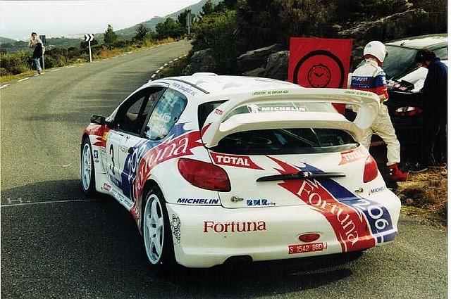 Peugeot 206 WRC 200- Mediterraneo Monzon
