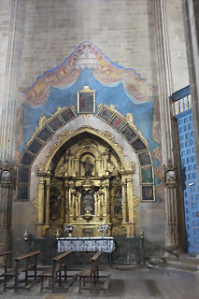 BRIONES (LA RIOJA)  CAPILLA DEL ROSARIO ROCOCO S.XVIII