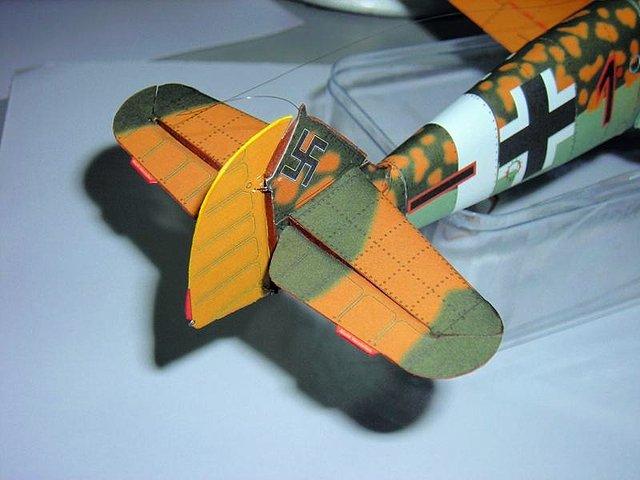 Bf 109 Rudder