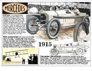 1915 Indy Mercedes