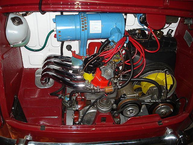 Motor restaurado