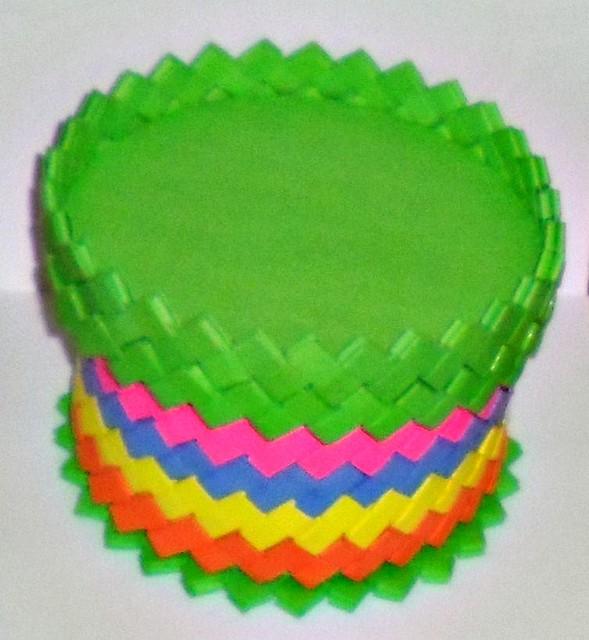 Caja Grande Multicolor Vista Tapa