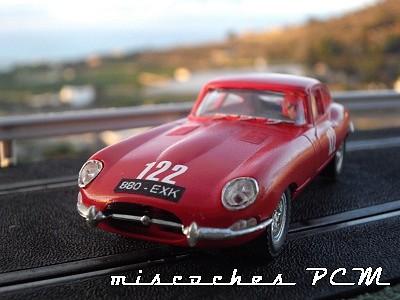 Jaguar E Coupe nº 122 Targa Florio 1963