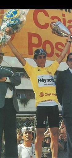 Perico-Vuelta1989-Lider6
