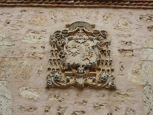 Eleta, Joaqu?n de escudo Burg de Osma2