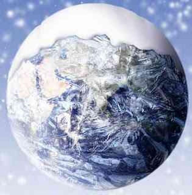 ozono21 Tierra bola nieve
