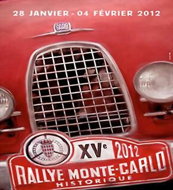 Rallye onte-Carlo 2012