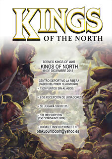caetel torneo kings of the north