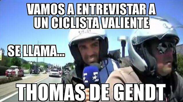 Contador sabe lo que es Thomas De Gendt