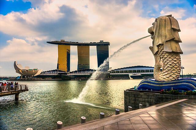 singapur-merlion