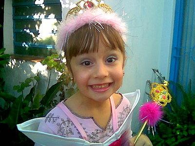 Aqui esta mi princesita Sarita