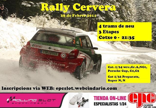 Carlee 2º Rally-2011 Cervera