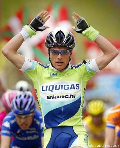 Di Luca ganando en Pais Vasco